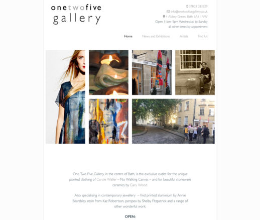 One Two Five Gallery