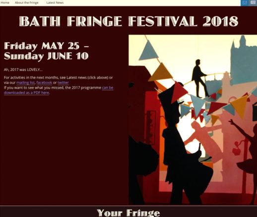 Bath Fringe Festival 2018
