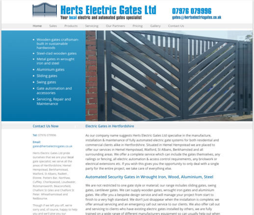 Herts Electric Gates